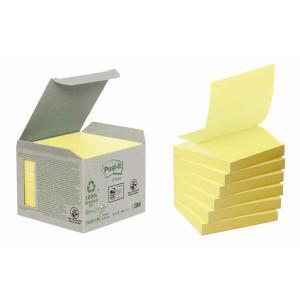 Z-Bločky Post-it recyklované 76x76mm žlté
