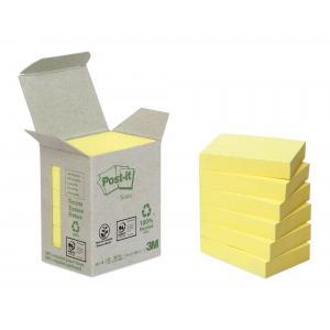 Bločky Post-it recyklované 38x51 žlté