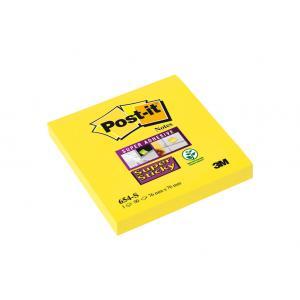 Samolepiaci bloček Post-it Super Sticky 76x76 žltý