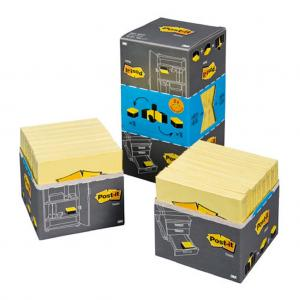 16x654 Samolepiaci bloček Post-it 76x76 žltý