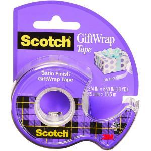 Lepiaca páska Scotch na darčeky 19mm x 7,5m s dipenzorom