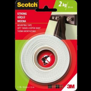 Montážna páska  Scotch silná 19 mm x 1,5 m