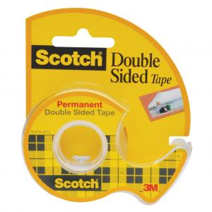 Lepiaca páska Scotch obojstranná s dispenzorom 12mm x 6,3m