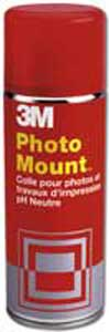 Lepidlo v spreji 3M Photo Mount 260g/400ml