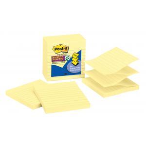 Z-bločky linajkové 101x101 žlté