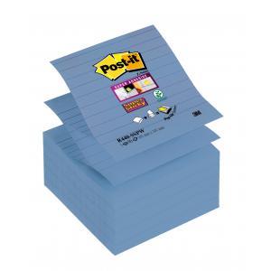 Z-bločky linajkové 101x101 modrofialové