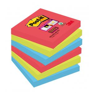 Bločky Post-it® Super Sticky _Bora Bora_ 76x76mm