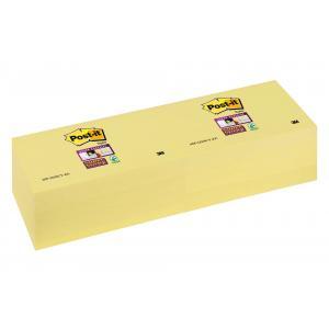 Bločky Post-it® Super Sticky žlté 76x127mm