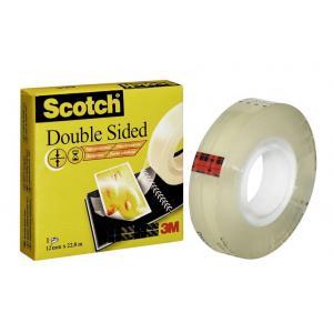 Lepiaca páska obojstranná Scotch 665 12mmx22,8m v krabičke