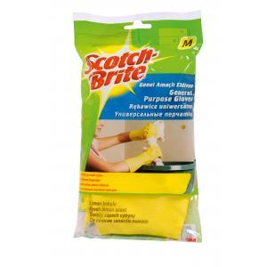 Univerzálne gumené rukavice Scotch Brite M s vôňou