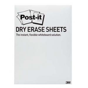 Post-it Super Sticky Dry Erase 15 listov, 27,9 cm x 39,0 cm