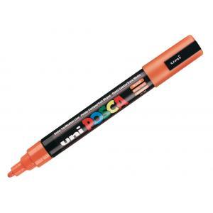 Permanentný popisovač uni POSCA PC-5M oranžový