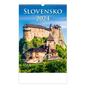 Nástenný kalendár Slovensko 2022