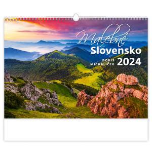 Nástenný kalendár Malebné Slovensko 2022