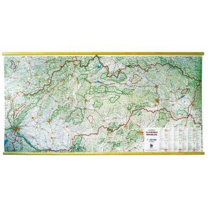 Mapa SR automapa 2000x940 mm