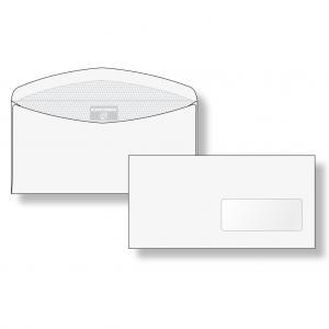 Poštové obálky C6/C5 olizové okienko vpravo vnútorná potlač,
