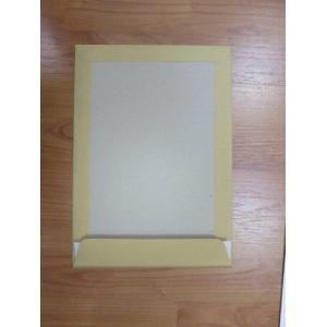 Poštové obálky C4 s páskou, s kartónovou zadnou stranou hnedé