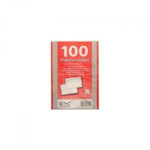 Poštové obálky C6 samolepiace, 100 ks