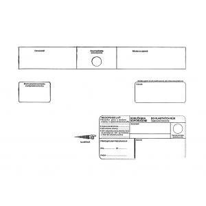 Poštové obálky C4 s páskou, do VR OD biele, 250 ks Nedoposie