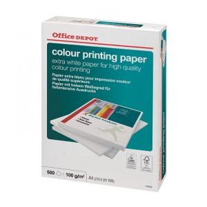 Papier Office Depot Colour Printing, A4,100g