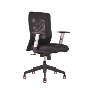 Kancelárska stolička CALYPSO čierna