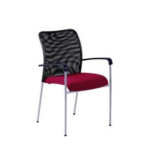Rokovacia stolička TRITON Net vínová