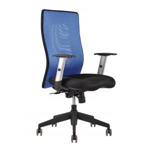 Kancelárska stolička CALYPSO GRAND modrá