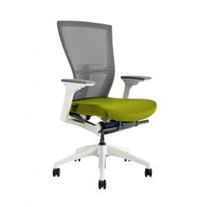 Kancelárske kreslo MERENS WHITE BI203 zelené