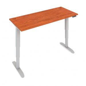 Stôl Motion el.nast.160cm čerešňa 3-segm.podnož pamäť.ovl.
