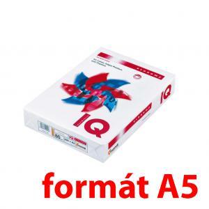 Kopírovací papier 80g A5 IQ economy, 500 ks