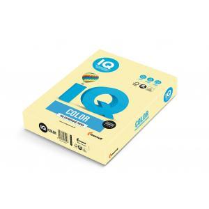 Farebný papier IQ color žltý YE23, A4 80g