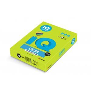 Farebný papier IQ color lipovo zelený LG46, A4 80g