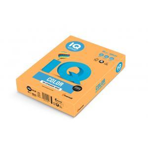 Farebný papier IQ color neónovo oranžový NEOOR, A4 80g