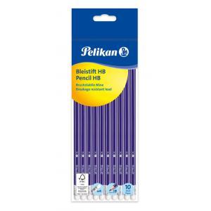 Ceruzka s gumou Pelikan HB 10ks