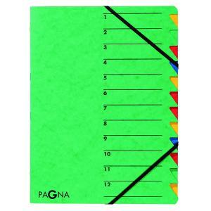 Triediaca zložka 12 PAGNA Easy zelená