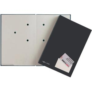 Podpisová kniha plastová 20 čierna