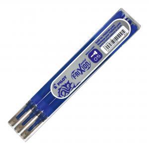 Náhradná náplň do rollera PILOT Frixion Point 0,5mm modrá 3ks