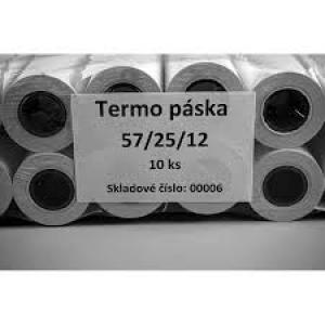 Termo páska 57/25/12 mm 55g
