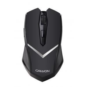 Bezdrôtová optická myš Canyon CNE-CMSW3 USB čierna