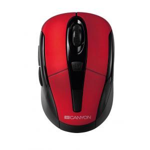 Bezdrôtová optická myš Canyon CNR-MSOW06R USB červená