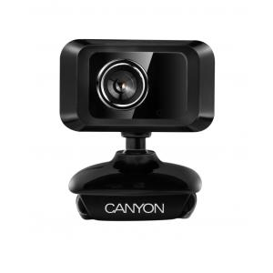 Webkamera Canyon CNE-CWC1, 0.3 Mpx CMOS 1/6´´, USB, mikrofón, 360° rozsah