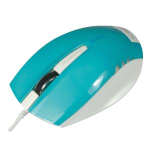 Optická myš E-BLUE Dynamic modrá USB