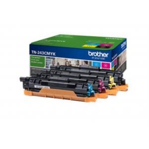Toner Brother TN-243 sada pre HL-L3210CW/L3270CDW/DCP-L3510CDW/L3550CDW  K/C/M/Y (1.000 str.)