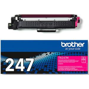 Toner Brother TN-247 pre HL-L3210CW/L3270CDW, DCP-L3510CDW/L3550CDW magenta (2.300 str.)