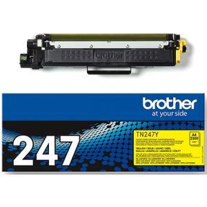 Toner Brother TN-247 pre HL-L3210CW/L3270CDW, DCP-L3510CDW/L3550CDW yellow (2.300 str.)