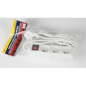 Predlžovací kábel s 3 zásuvkami s vypínačom 5m