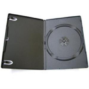 1 DVD box - čierny obal slim 9mm