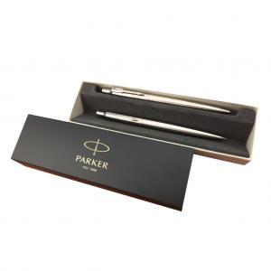 Súprava Parker Jotter guľôčkové pero + ceruzka strieborná
