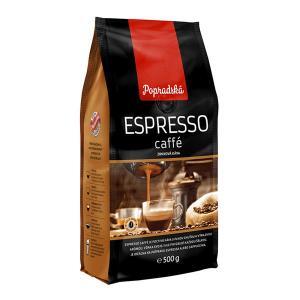 Káva Popradská ESPRESSO caffé zrnková 500 g