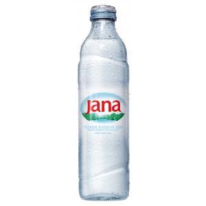 Prírodná minerálna voda Jana 0,33 L sklo
